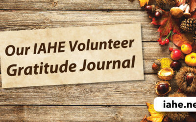 Our IAHE Volunteer Gratitude Journal