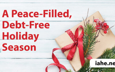 A Peace-Filled, Debt-Free Holiday Season