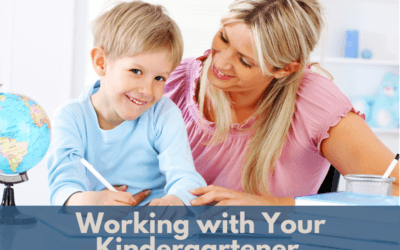 Working with Your Kindergartener